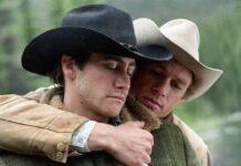Heath Ledger e Jake Gyllenhaal in una scena di Brokeback Mountain