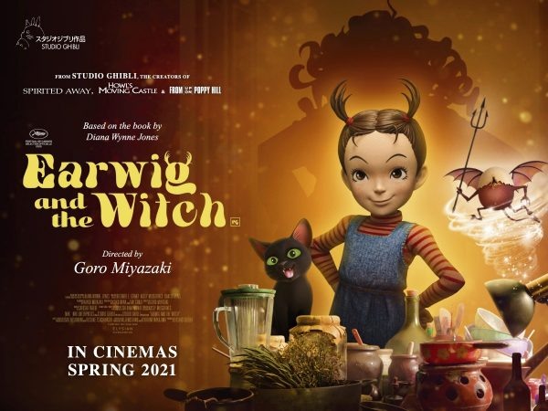 Earwig and the Witch: il trailer e il poster