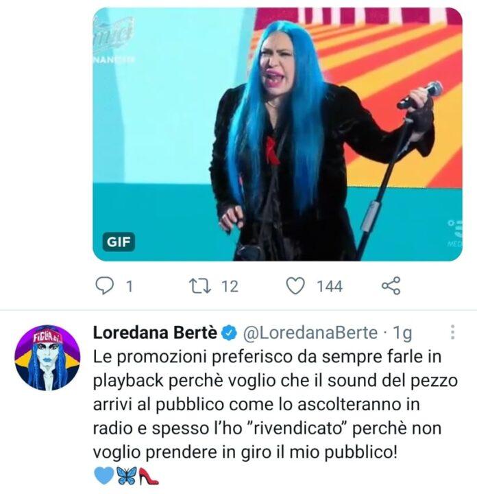 playback loredana bertè