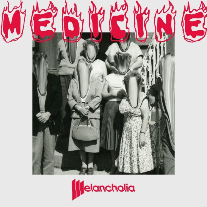 Melancholia, copertina di Medicine