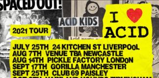 Tornano gli I Love Acid: ecco le date del nuovo tour