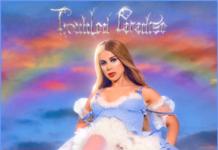 Slayyter, copertina di Troubled Paradise
