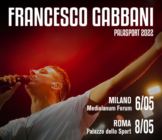 Francesco Gabbani dal vivo