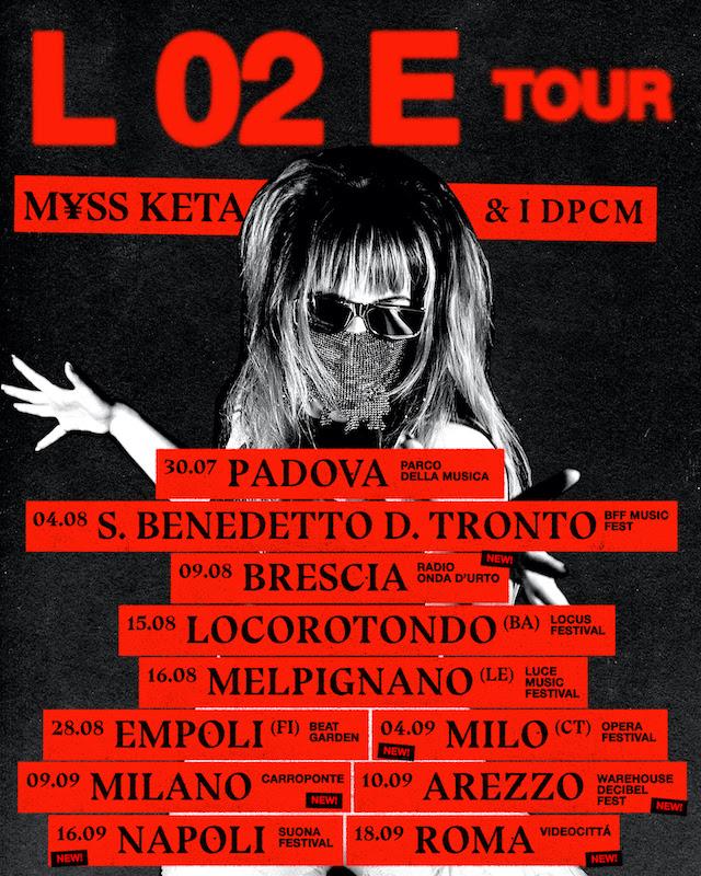 M¥SS KETA L02E tour