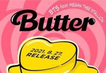 BTS Megan Thee Stallion, remix di Butter